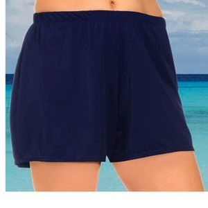 Swimsuits For All Loose Swim Shorts attached brief